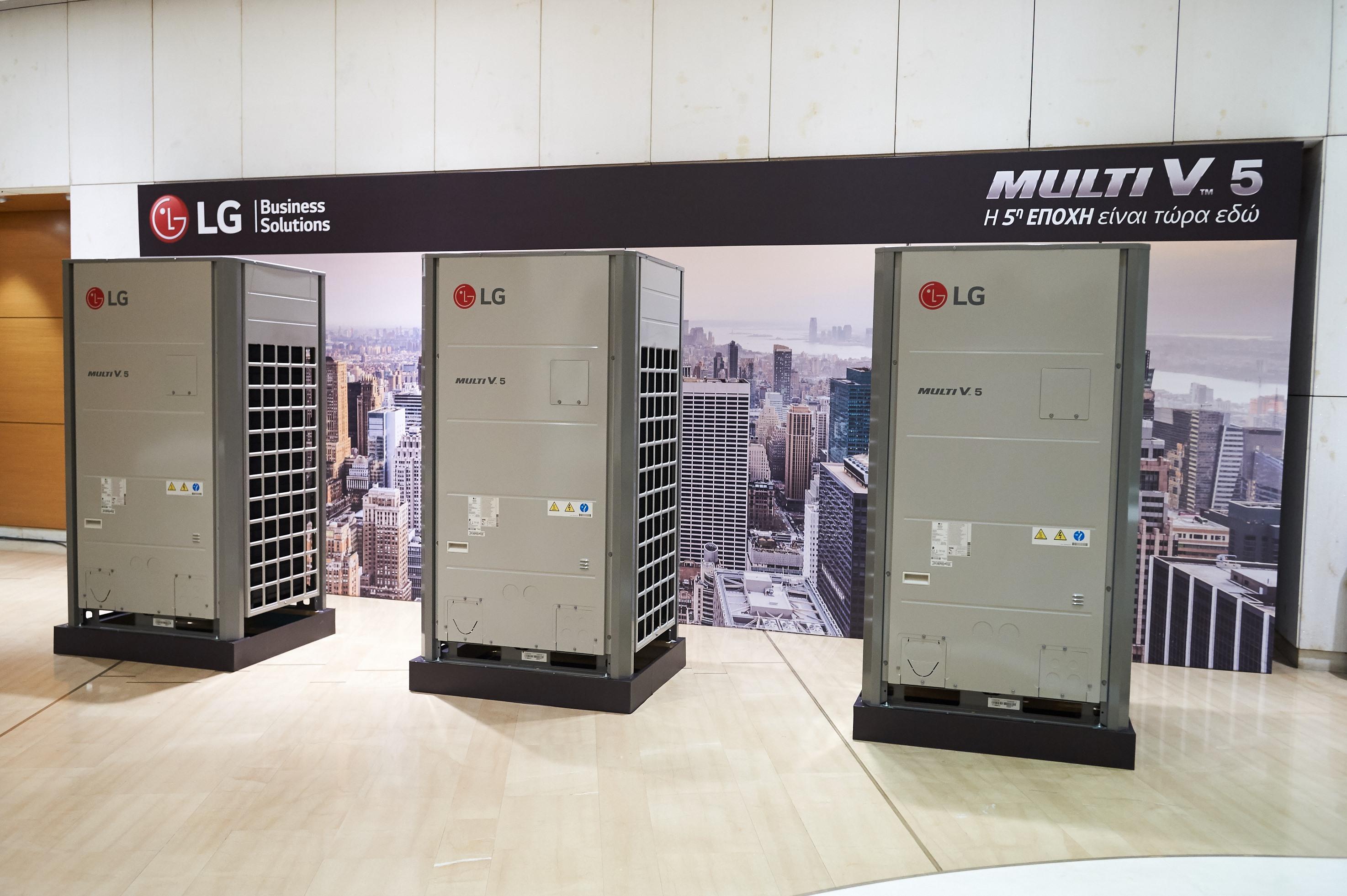 Η LG φέρνει την 5η εποχή στα συστήματα ψύξης-θέρμανσης