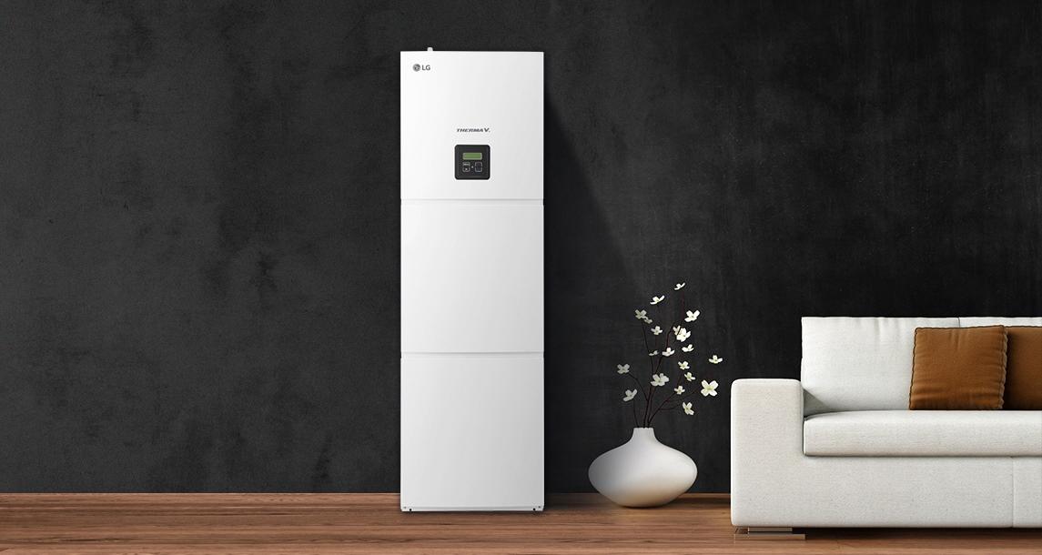 Η LG παρουσιάζει το νέο τύπο αντλιών θερμότητας THERMA V Split με ενσωματωμένο δοχείο ζεστού νερού χρήσης