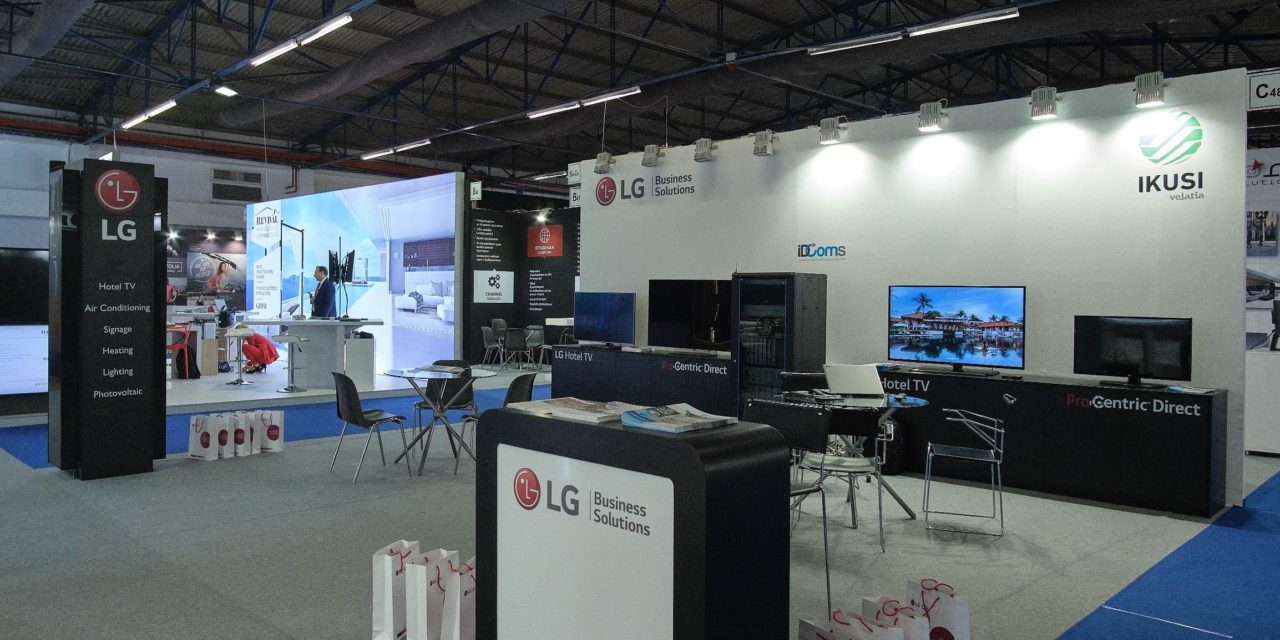 Η LG αρωγός του τουρισμού στηρίζει και φέτος το 100% Hotel Show ως Digital Signage Partner