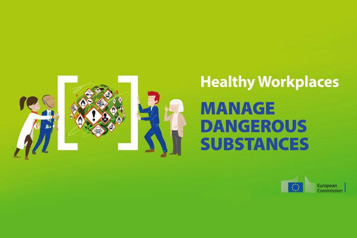 Εκστρατεία 2018-2019: Ασφαλείς και Υγιείς Χώροι Εργασίας-Διαχείριση Επικινδύνων Ουσιών-Το ηλεκτρονικό εργαλείο διαχείρισης (e-tool)