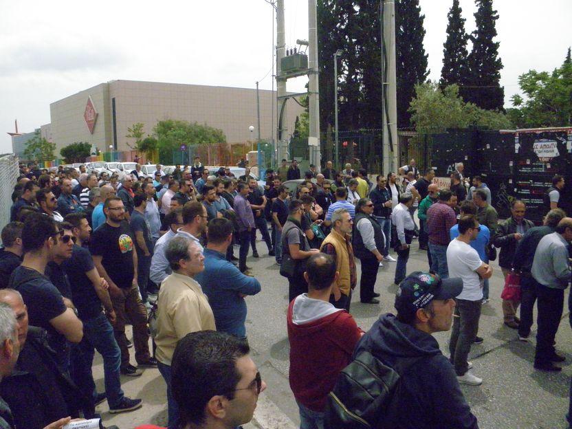 Συγκέντρωση διαμαρτυρίας για την καθυστέρηση της έκδοσης πιστοποιητικών