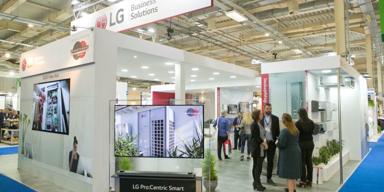 """Η LG συμμετείχε στην Xenia 2019 παρουσιάζοντας το """"έξυπνο"""" δωμάτιο με ολοκληρωμένες ξενοδοχειακές λύσεις"""