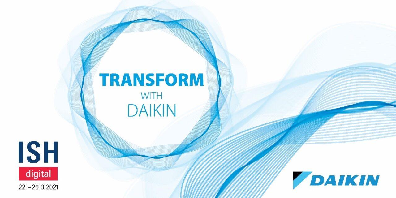 H Daikin Europe συμμετέχει ενεργά στην Παγκόσμια Έκθεση ISH digital 2021