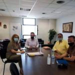 Συνάντηση της ΟΨΕ με τον Αντιπεριφερειάρχη Δυτικού Τομέα Αθηνών, κ. Λεωτσάκο Ανδρέα